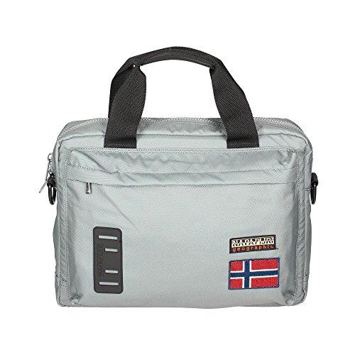 Borsa Tracolla Uomo Donna Napapijri Bag Men Woman Nordland Briefcase Quarry N5Z33