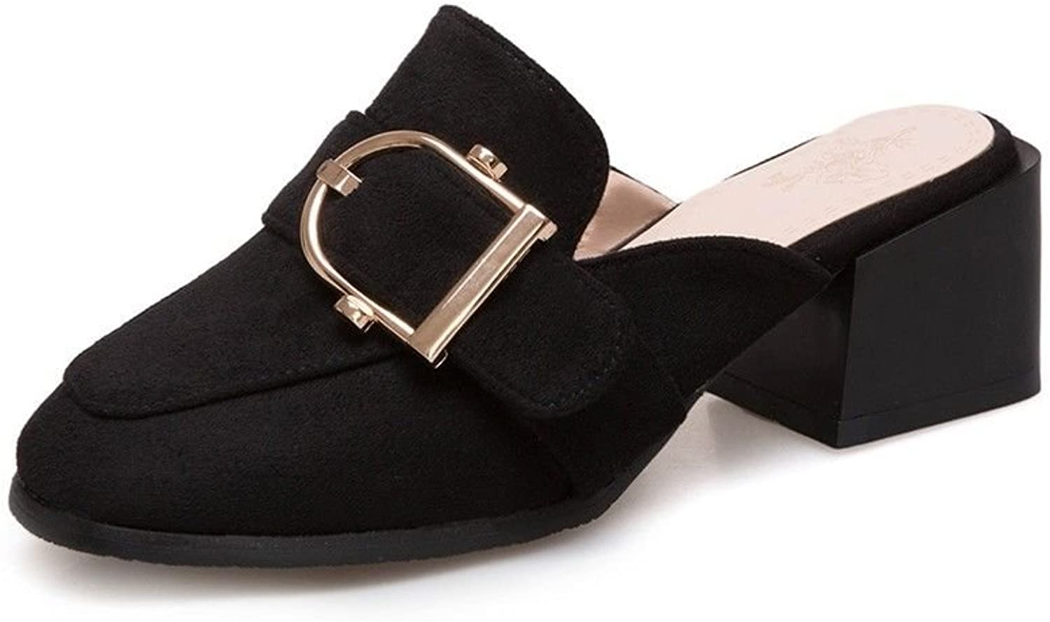American and European Style with Bold, Large Numbers with The Baotou Slippers