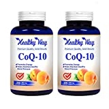 Healthy Way Pure CoQ10 400mg Per Serving - 200 Capsules Supports Heart Health & Helps Maintain Healthy Blood Pressure - Non-GMO USA Made (2)