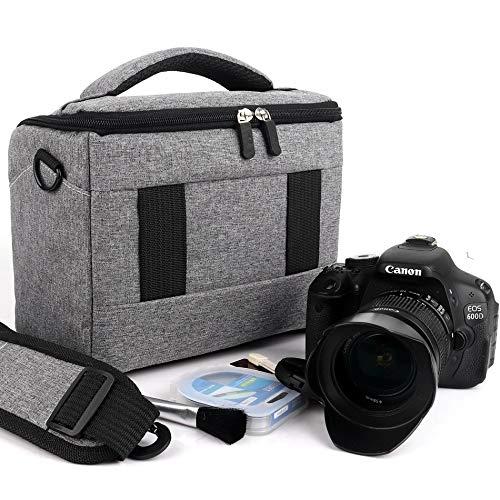 Unbekannt 123 Test DSLR-Kameratasche/Kameratasche aus Polyester für Canon, Nikon, Sony, wasserfest
