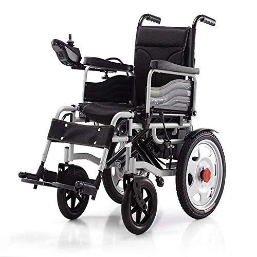 Rollstuhl Elektrisch angetriebenes Rollstuhlklappen Leicht 34 kg, stark und langlebig für den Gebrauch, motorisierte Rollstühle Praktisch für den Heim- und Außenbereich Klappbar