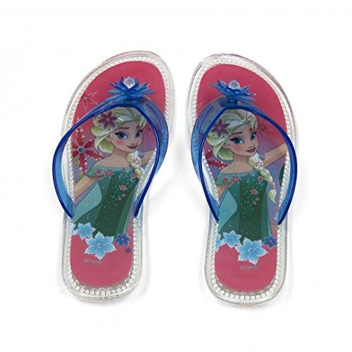 Disney Frozen Die Eiskönigin Flip Flops Strandschuhe in verschiedenen Größen, Größe:32