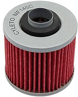 Cyleto - Filtro de aceite para YAMAHA XV1000 SE 1988 1989/XV 1000 VIRAGO 1000 1981 1982 1983 1984 1985/XV1100 XV 1100 VIRAGO 1100 1986-2000