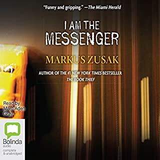 I Am the Messenger audiobook cover art