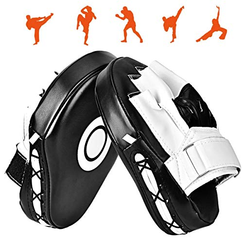 Queta Outtybrave 1 Paar PU-Krallen, Box-Taekwondo-Pads, Ziel-Trainingshandpads, Karate-Handschuhe, MMA/Muay Thai/Sparring/Dojo/Kampfkunst
