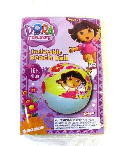 Nickelodeon Dora The Explorer Beachball - Dora Beachball - Dore The Explorer Beachball by