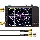 アンテナネットワークアナライザNanoVNA、2.8インチLCDデジタルディスプレイタッチスクリーン短波MF HF VHF UHFベクトルネットワークアナライザ定在波50KHz-900MHz…