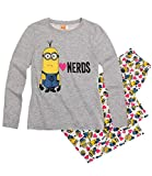 Minions Despicable Me Chicas Pijama - Gris - 128