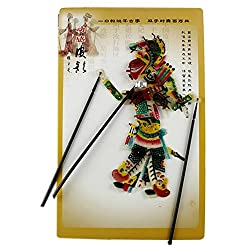 Chinese Traditional Shadow Puppet, Hand Puppet, Hero Man, GuanYu