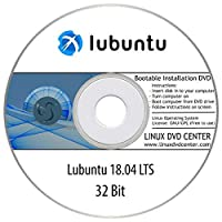 "Lubuntu 18.04 LTS ""Bionic Beaver"" (32Bit) - Bootable Linux Installation DVD"