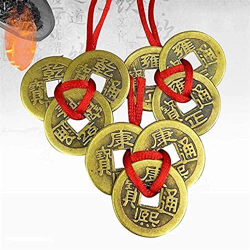 LIUXINDA-HZ Pièces de Fortune Chinoises pièces de Monnaie Fe