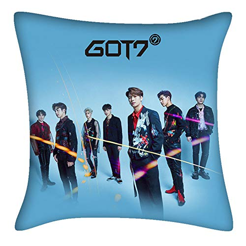 gerFogoo 4040cm Kpop GOT7 Album 《Love Loop》 : Between Security & Insecurity Square Throw Pillow Case Cushion Cover(4040cm2)
