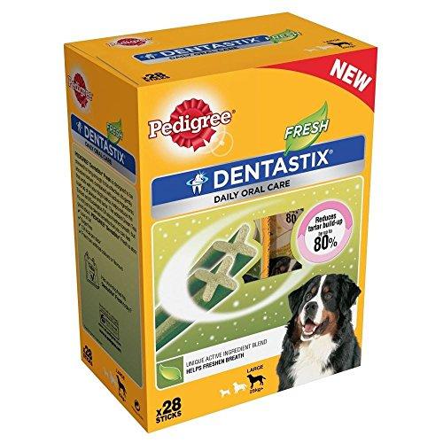 Pedigree Dentastix Pour Les Grands Chiens - Frais (28 Par Paquet - 1`16Kg)