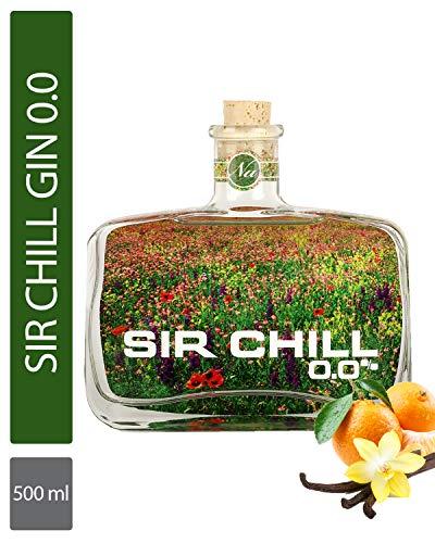 SIR CHILL 0.0 – Alkoholfreie Gin-Alternative, Premium Mischgetränk für Drinks und Cocktails ohne Alkohol, 0,5 l