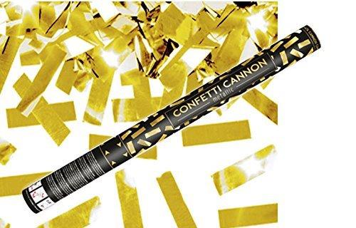Konfetti Shooter 5 Stück Party Popper Gold Folien Konfetti Kanone XXL 60 cm ! Hochzeit Event - von Haus der Herzen ®