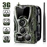 Cámara de caza 3G 2G Cámara de vigilancia de vida silvestre 20MP 1080P, cámara de juego...