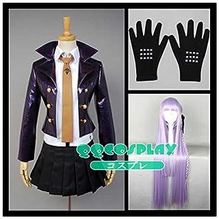 【QQCOSPLAY】 コスプレ衣装+ウイッグ ダンガンロンパ 希望の学園と絶望の高校生 霧切 響子 cosplay サイズ選択可 (女S)