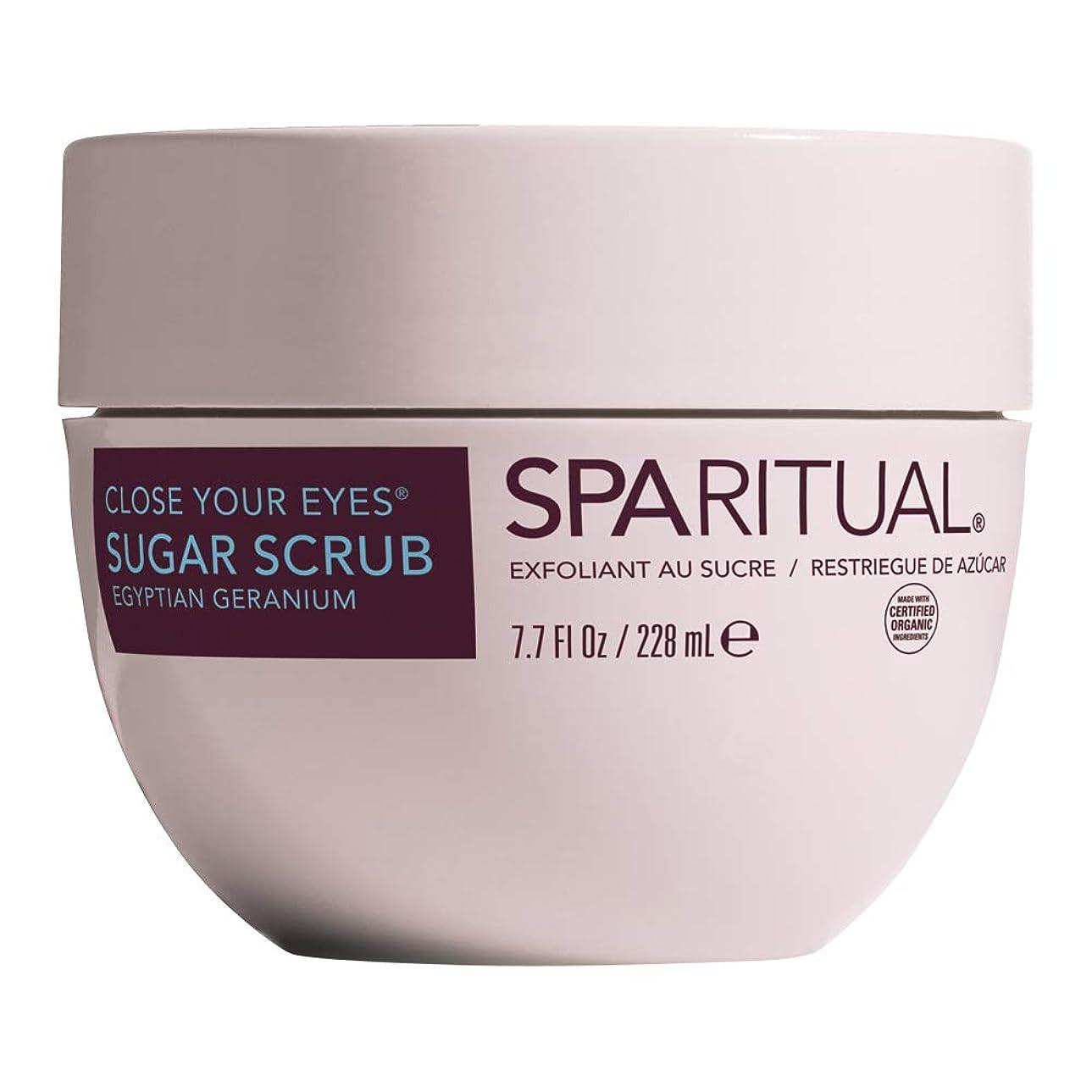 確認準備ブランド名SPARITUAL(スパリチュアル) クローズ ユア アイズ シュガースクラブ 228ml