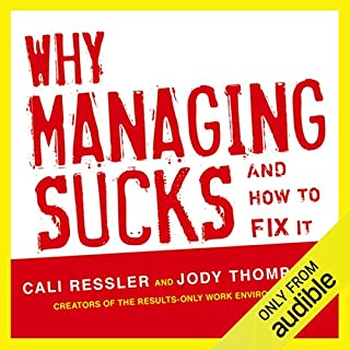 Why Managing Sucks and How to Fix It audiobook cover art