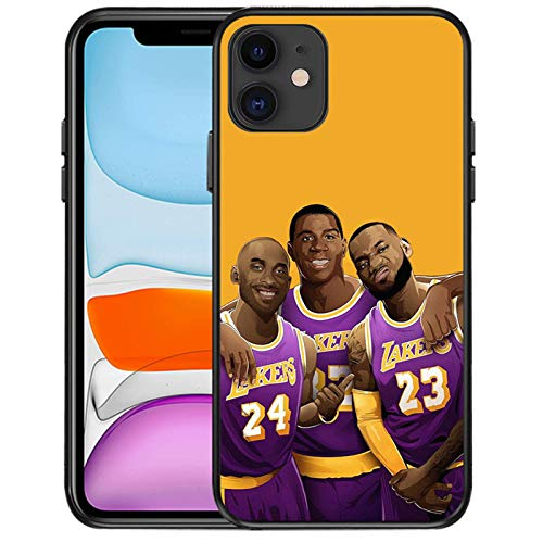 LeBron James - Funda protectora para iPhone 11 11pro y 11pro Max, resistente a caídas y duradera JMS D-11Pro