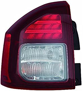 Jeep Compass 14-16 Tail Light Assembly LH Side CAPA 5272909AB CH2800204C