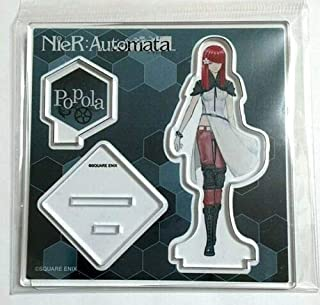 NieR Automata Acrylic Stand Figure Popola Square Enix Cafe Limited Game F/S