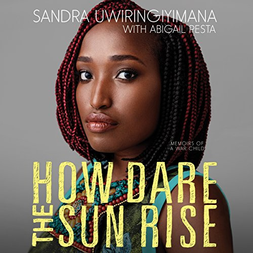 How Dare the Sun Rise audiobook cover art