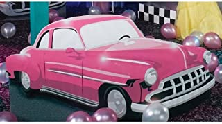 Shindigz 50's Drive in Pink Car Standee Party Prop