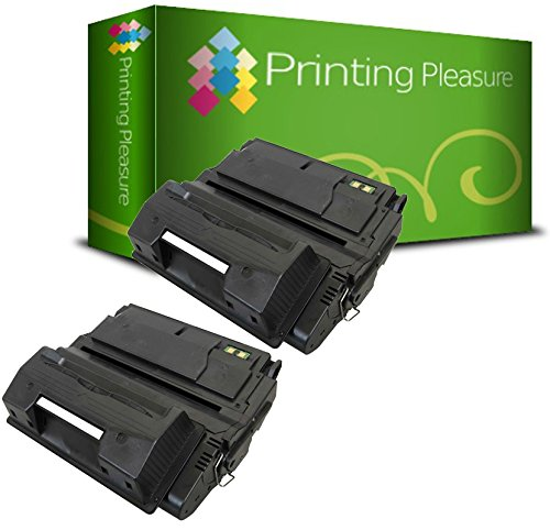 Printing Pleasure 2er Set Premium Toner Schwarz kompatibel für HP Laserjet 4200 4200DTN 4200DTNS 4200DTNSL 4200L 4200N 4200TN 4240 4240N 4250 4250DTN 4250DTNSL 4250N 4250TN 4350 4350DTN 4350N 4350TN