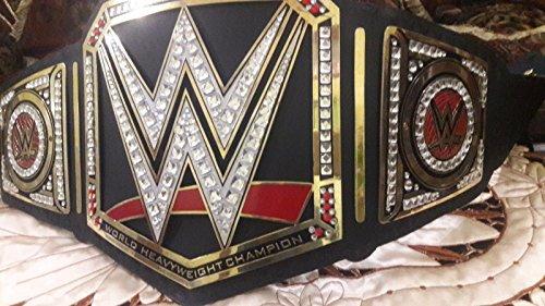 GT PRO WWE World Heavyweight Wrestling Championship Replica Cinturón de cuero...