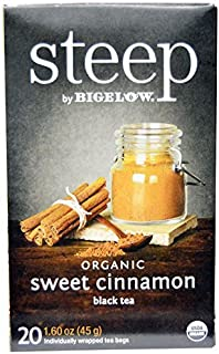 Steep By Bigelow Organic Sweet Cinnamon Black Tea - 20 / Box by Bigelow Tea