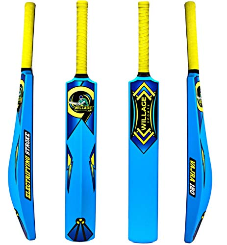 Willage ® Cricket Bat, Plastic Bat, Plastic Bat for Tennis Balls, Plastic Bat Cricket Full Size