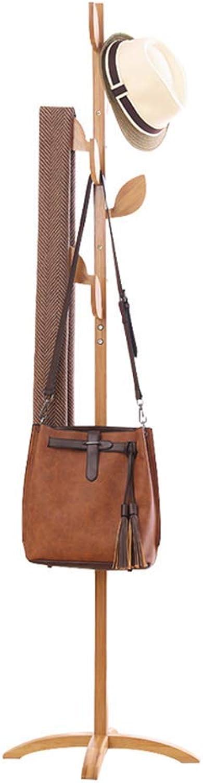greenical Coat Rack, European Solid Wood Hanger Suitable for Living Room Bedroom H  175cm,B