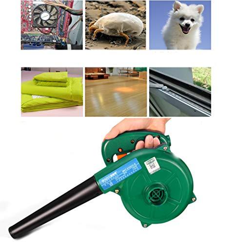 MAQRLT Filtro de Aire comprimido para PC, de Alta Potencia de Aire comprimido PC Cleaner Eliminación de Polvo Uso Industrial pequeño Golpe Potente succión de Mano del Ventilador Secador de Pelo
