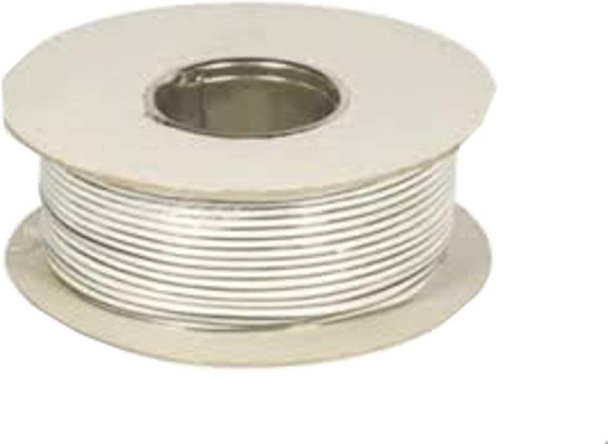 100 km sonnette fil 0,5 mm 1-conducteurs cuivre boutons câble métallique set 10 Couleurs 10 m