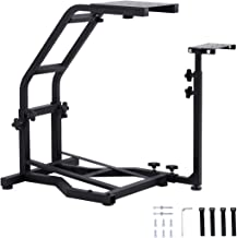 Gekufa Racing Wheel Stand Compatible with Logitech G29 G920 G25 G27 Wheels,Foldable Height Adjustable Gaming Simulator Ste...