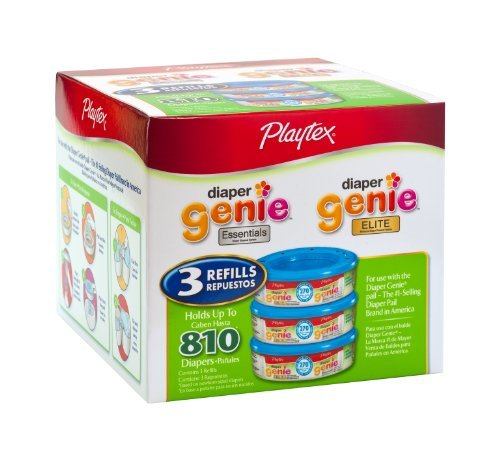 Playtex Diaper Genie Refill (810 count total - 3 pack of 270 each) Kids, Infant, Child, Baby Products bébé, nourrisson, enfant, jouet