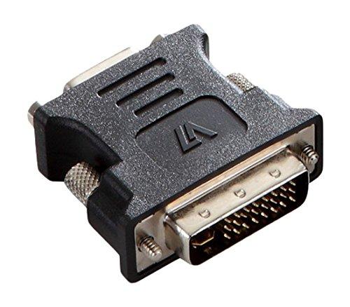 V7 V7E2DVIIMVGAFADPTR2N adaptador de cable DVI-I VGA Negro – Adaptador para cable (DVI-I, VGA, Male…
