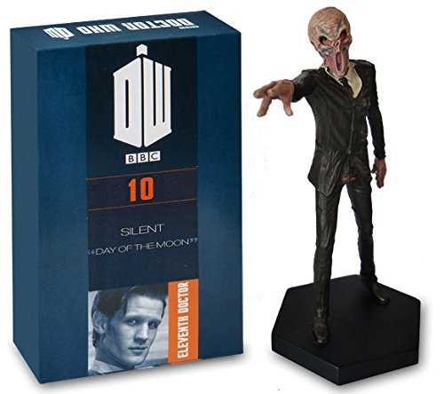 Doctor Who Figurine Collection - Figure #10 - Silent - Hand Painted 1:21 Scale Model - Collector Boxed by Eaglemoss / Doctor Who