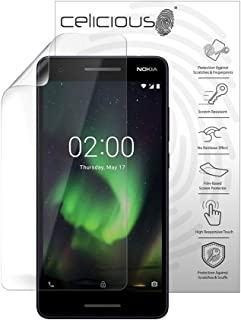 Celicious Vivid Plus Mild Anti-Glare Screen Protector Film Compatible with Nokia 2.1 [Pack of 2]