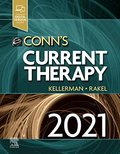 Compare Textbook Prices for Conn's Current Therapy 2021 1 Edition ISBN 9780323790062 by Kellerman MD, Rick D.,Rakel MD, David