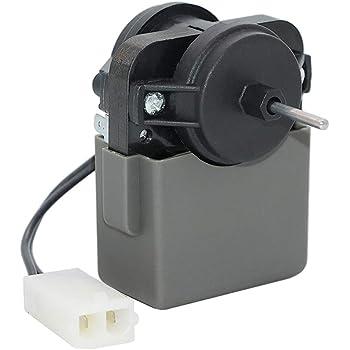 Compatible with WPW10189703 Refrigerator Evaporator Fan Motor W10189703 Evaporator Fan Motor Replacement for Kenmore//Sears 106.73853302 Refrigerator