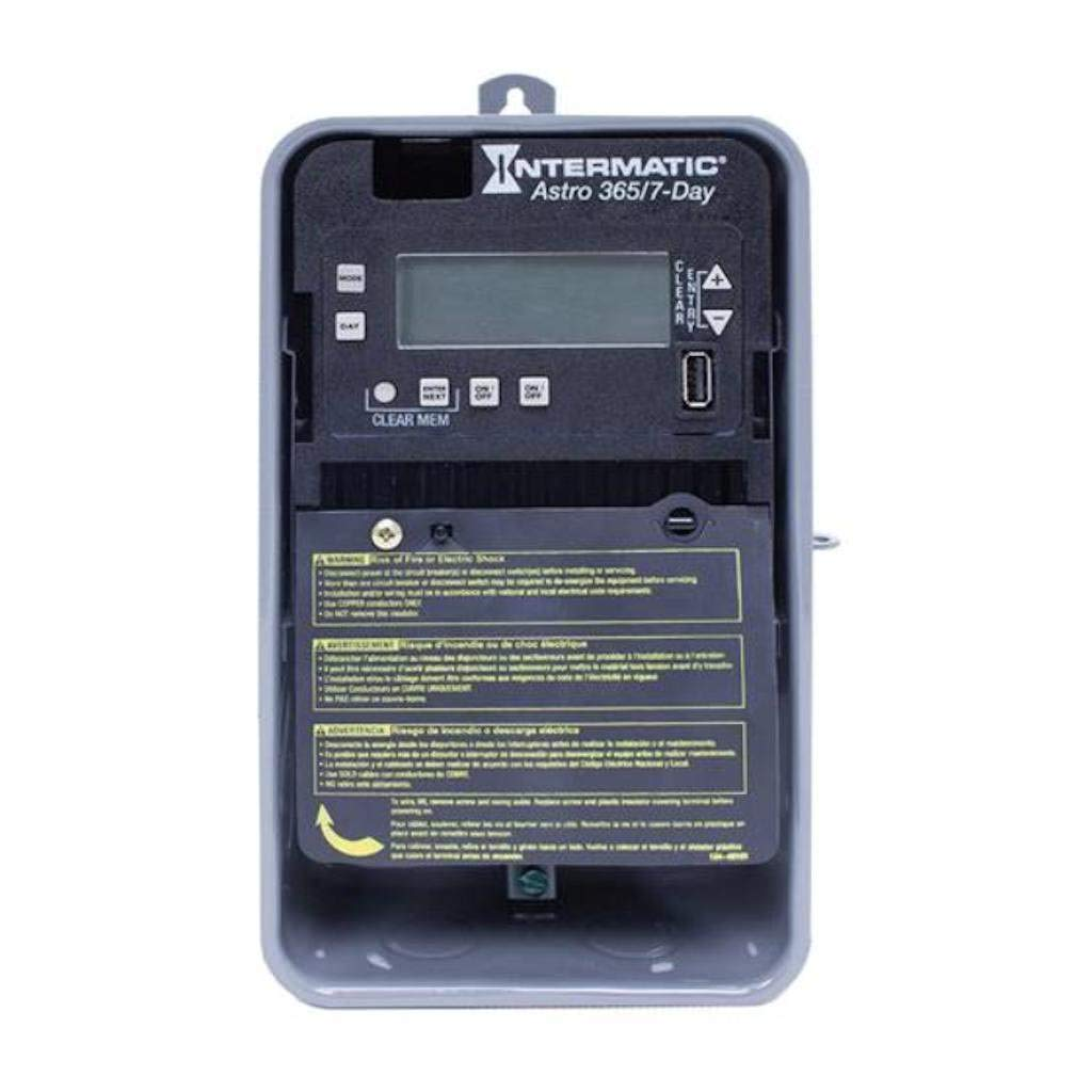 Intermatic Electronic Timer Super sale 30 Amps Ope 277Vac to Voltage 120 Quality inspection