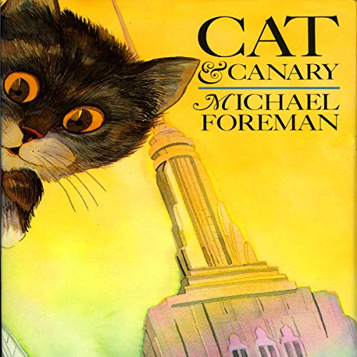 Cat & Canary audiobook cover art