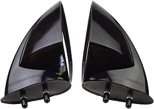 GOOFIT Motorboat Rearview Mirror a pair of Replacement for Yamaha WaveRunner VX110 VX110 VXR VXS V1 FX Sport Deluxe Cruiser EX Series 2005-2009