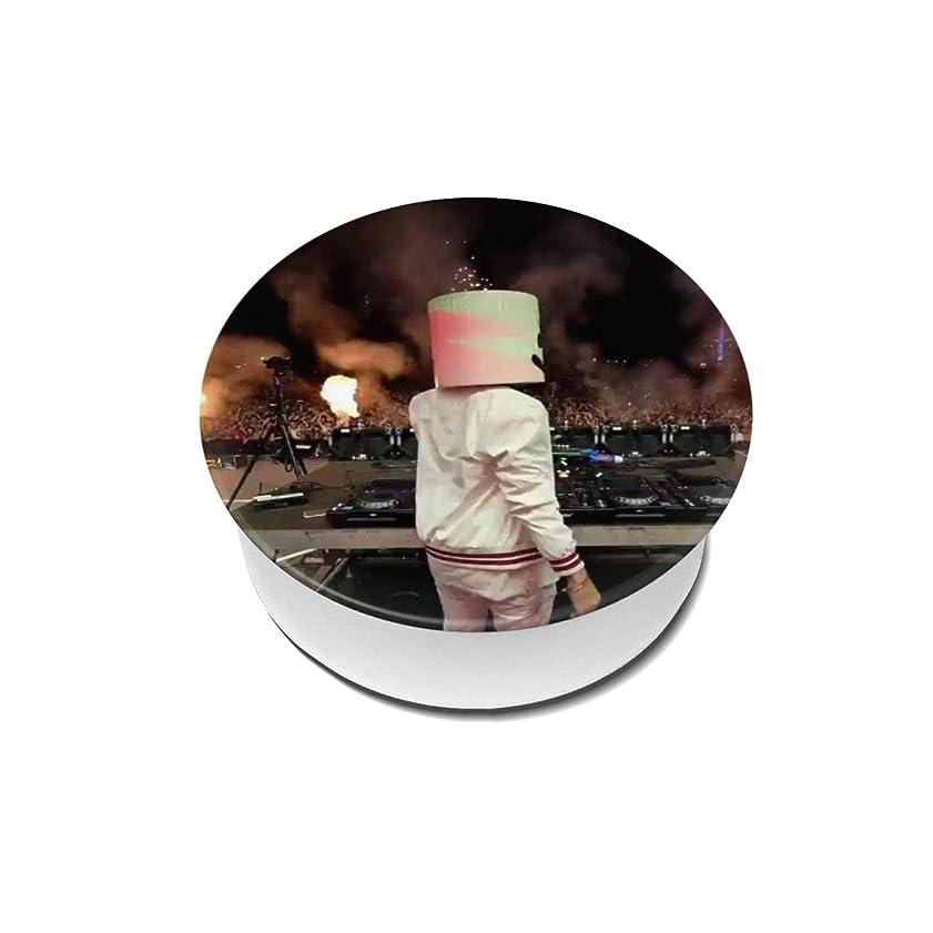 サスペンド波指紋Yinian 4個入リ マシュメロ Marshmello スマホリング/スマホスタンド/スマホグリップ/スマホアクセサリー バンカーリング スマホ リング 人気 ホールドリング 薄型 スタンド機能 ホルダー 落下防止 軽い 各種他対応/iPhone/Android(2pcs入リ)