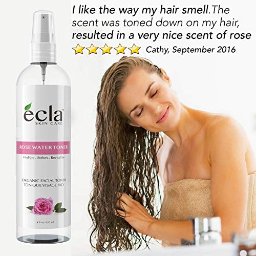 Rose Water Spray Mist Toner for...