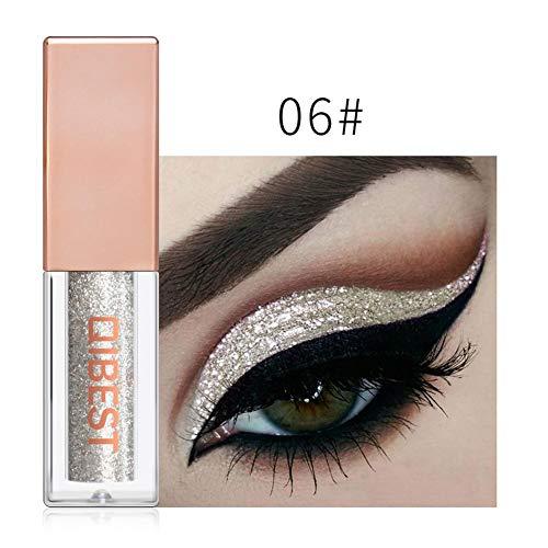 Cracklight Diamond Perlglanz flüssig flüssig Lidschatten Make-up 15 Farben leuchtend bunt...