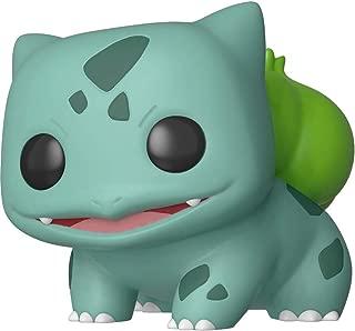 Funko Bulbasaur: Pokémon x POP! Games Vinyl Figure & 1 POP! Compatible PET Plastic Graphical Protector Bundle [#453 / 36237 - B]