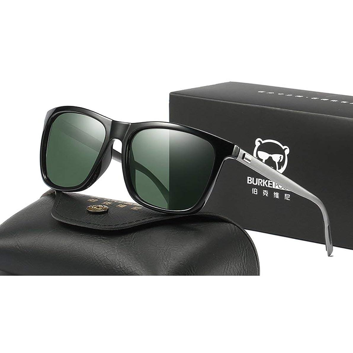 概して時折グリーンバック高精細駆動ミラーメンズサングラススポーツゴーグルファッションメガネ偏光メガネドライビングメガネアンチグレア(カラー:2)